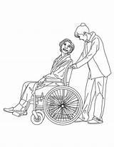 Coloring Medical Nurse Job Adult Nurses Medicine Tools Getdrawings Template sketch template