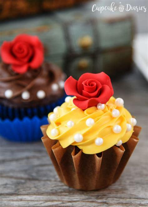 beauty and the beast cupcake cake ideas