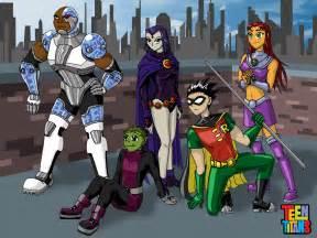 Teen Titans Grown Up