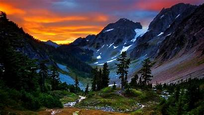 Mountains Desktop Backgrounds Mountain Sunset Earth Valley