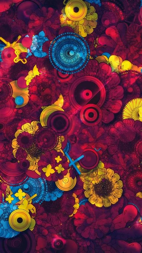 Artsy Trippy Cool Iphone Wallpapers by Customize Your Iphone5 With This High Definition 640x1136