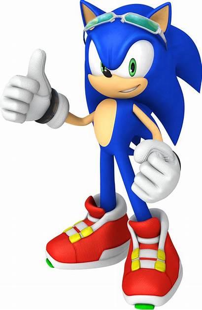 Sonic Riders Hedgehog Signature Render Rider Official
