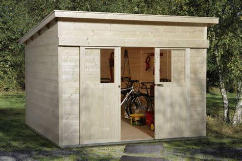 carport mit gerätehaus gartenhaus weka flachdach ger tehaus mit gro er