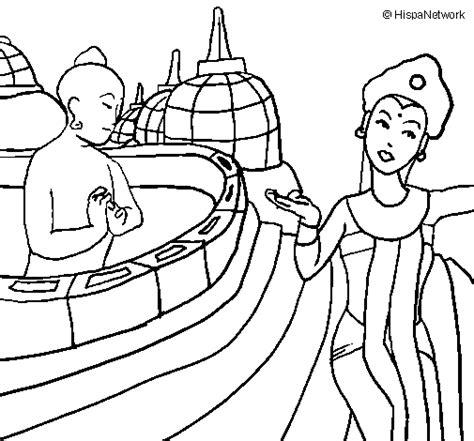 Kleurplaat Indonesie by Indonesia Coloring Page Coloringcrew