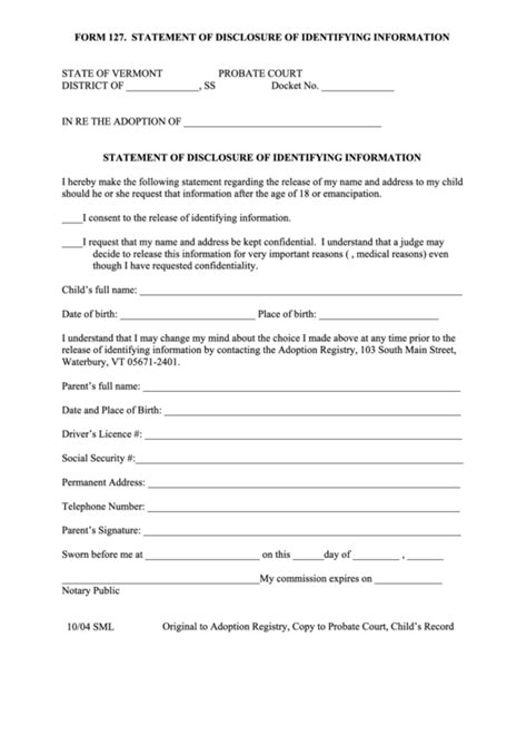 top 12 vermont probate court forms and templates free to