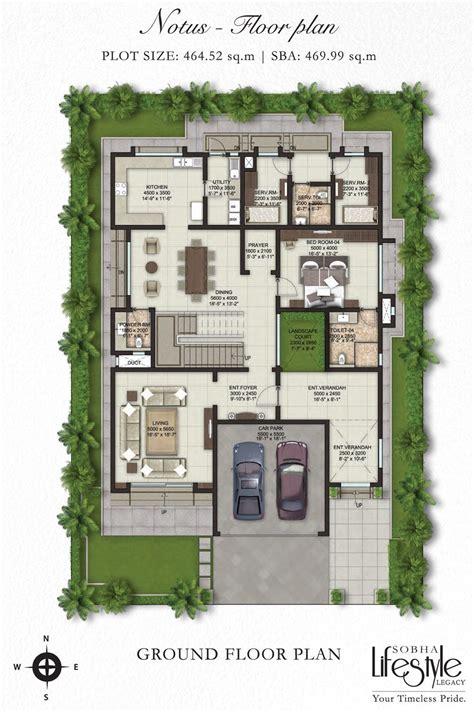 villa floor plans sobha lifestyle legacy 4 bedroom villas bangalore