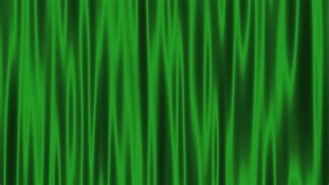 High Definition Clip Of An Opening Green Stage Curtain