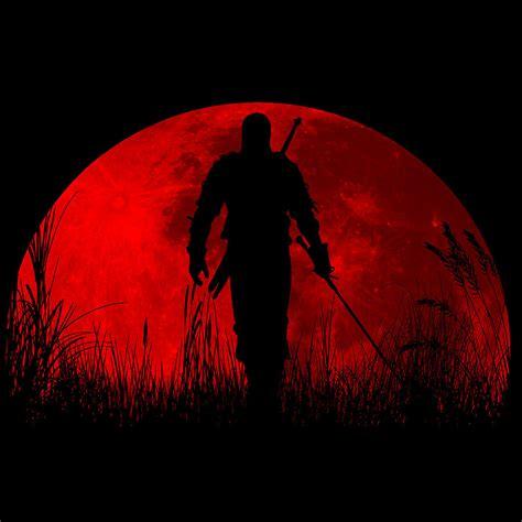 red moon drawing  danilo caro