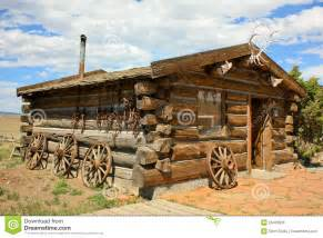 cabin house plans trappers house royalty free stock image image 25406906