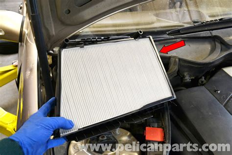 Mercedes-benz W203 Cabin Air Filter Replacement