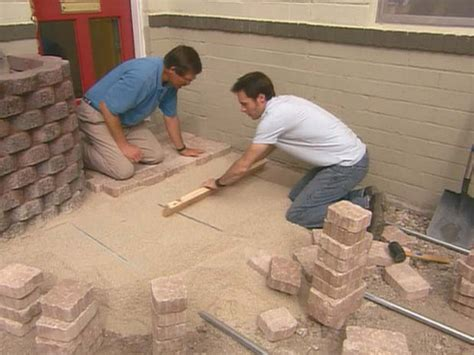 how to install pavers how to install concrete pavers
