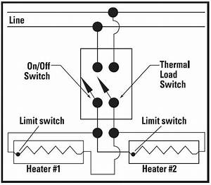 Different Load Baseboard Heaters In Parallel - Electrical