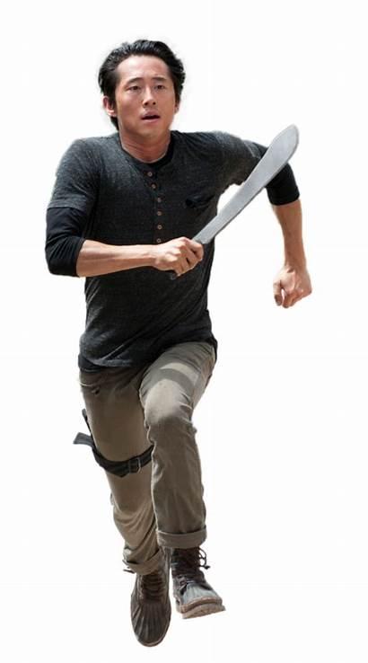Glenn Walking Dead Twd Transparent Rhee Background