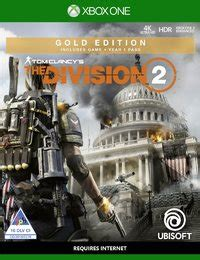 tom clancys  division  gold edition xbox