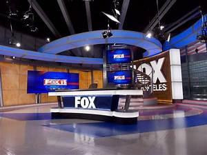 KTTV-TV Broadcast Set Design Gallery