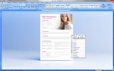 Bewerbung Englisch Muster Als Wordvorlage Zum Download
