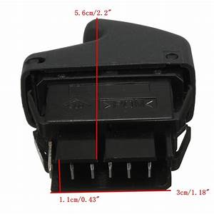6 Pin Electric Window Control Switch For Renault Clio Ii