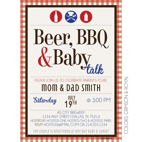 custom home designer bbq baby kateogroup baby shower invitation