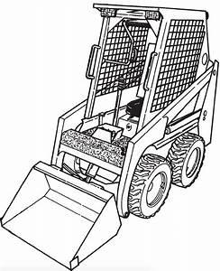 Bobcat 440  440b  443  443b Loader Factory Service  U0026 Shop Manual