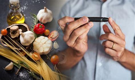 type  diabetes eat garlic   meals   blood