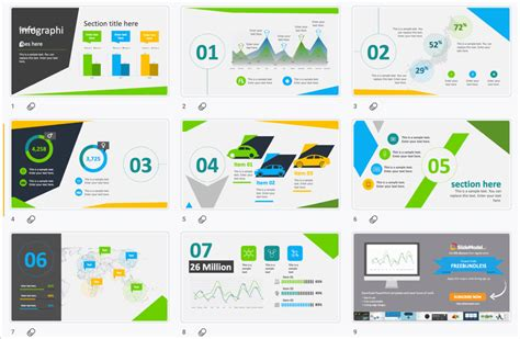 fun  colorful  powerpoint templates present