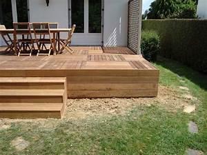 Caillebotis Pour Terrasse : terrasse caillebotis bois ~ Premium-room.com Idées de Décoration