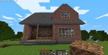 porch blueprints cozy 2 story brick house minecraft house design