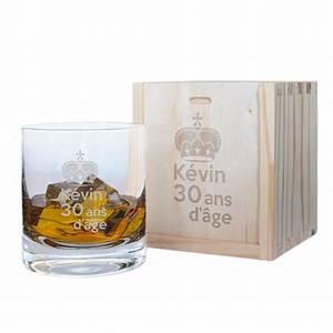 Coffret Verre Whisky : verre whisky anniversaire personnalis amikado ~ Teatrodelosmanantiales.com Idées de Décoration