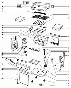 Weber 46510001 Parts List And Diagram   Ereplacementparts Com