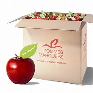 Caisse De Pomme : pommes marqu es pommes du verger la bouche mc ~ Teatrodelosmanantiales.com Idées de Décoration