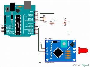 Arduino Flame Sensor Interfacing To Build A Fire Alarm System