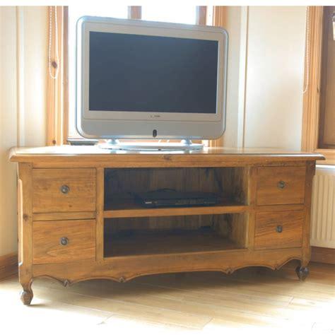 antique pine tv signature north vintage pine 4 drawer tv cabinet