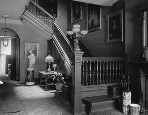 early 1900s photo LOCKETT, MISS HOME, INTERIOR Vintage
