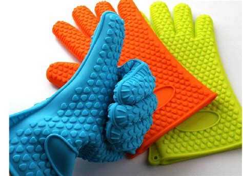 Best Silicone Bbq Gloves Insulated Kitchen Tool Heat