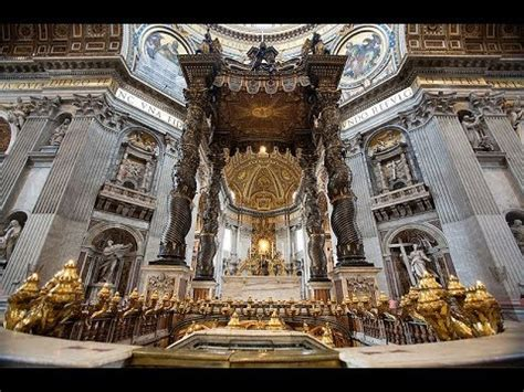 baldacchino di san pietro di bernini places to see in vatican city italy baldacchino di