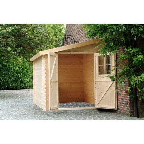 petit abri de jardin bois petit abri de jardin bois adossable nousu 4 67m 178 pas cher 224 prix auchan