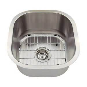 polaris sinks all in one undermount stainless steel 16 in