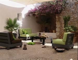 Jardin Et Balcon : salon de jardin petit balcon elegant mobilier jardin gifi ~ Premium-room.com Idées de Décoration