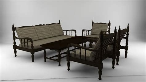 how to renovate old sofa set old javanese sofa set 3d asset cgtrader