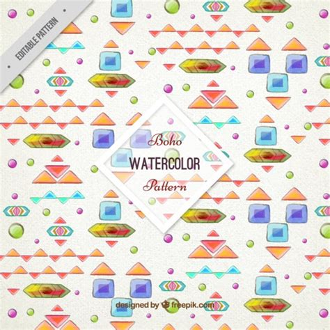 Abstract Shapes Watercolor by Watercolor Abstract Shapes Pattern Free Vectors Ui