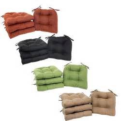 patio chair cushion set 4 seat pads garden outdoor