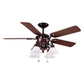 shop harbor breeze 52 quot bellhaven bronze ceiling fan at