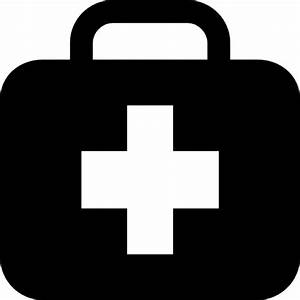 First aid kit in briefcase Icons | Free Download