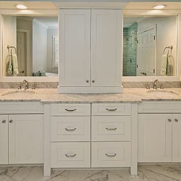 Bathroom Cabinet Remodel   Custom Cabinet Solutions