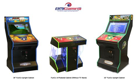Arcade Cabinet Plans 32 Lcd by Company Funco Arcade Catalog Factory