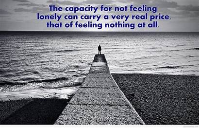 Alone Quotes Feeling Wallpapers Forever