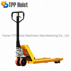 China 3 Ton Industrial Hand Forklift Manual Lift Pallet