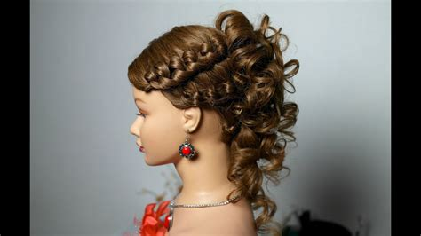 medium hair styles for knotted hairstyle for medium hair with curls 2899