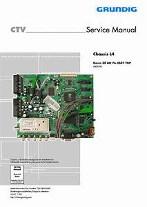 Grundig Chassis L4 Davio 30lw76 4501top Service Manual