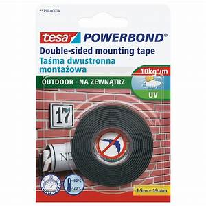 Tesa Powerbond Outdoor : tesa powerbond outdoor double sided mounting tape white 19 mm x 1 5 m roll 1 5 metres staples ~ Frokenaadalensverden.com Haus und Dekorationen